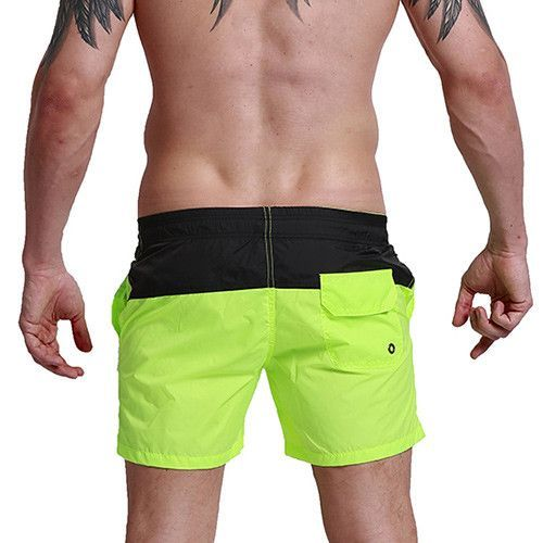 b89c720ee8 Aimpact Fashion Summer Sexy Beach Men's Shorts Leisure Lining Liner Men Board  Shorts Patchwork Fast Dry Elastic Waist Short DT62