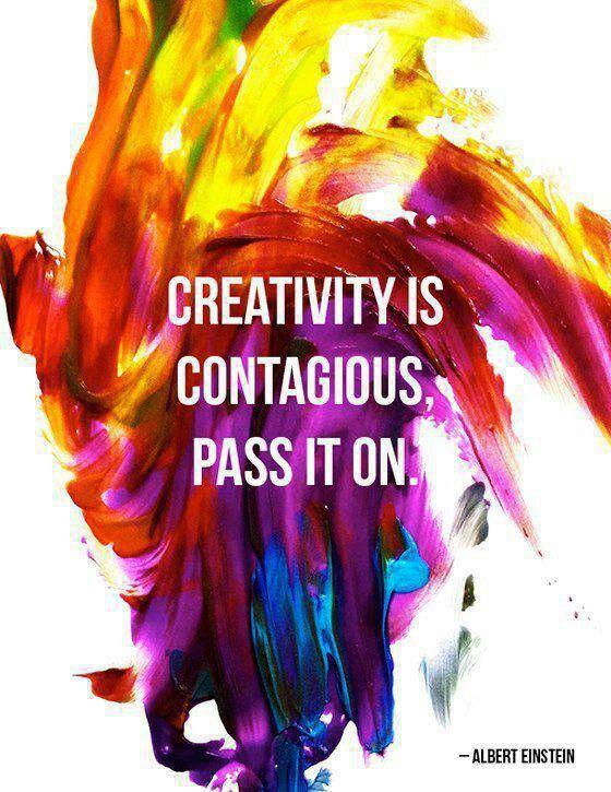 """Imagini pentru """"Creativity is contagious. Pass it on."""""""