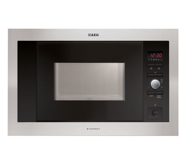 Aeg Mc1763e M Built In Solo Microwave Stainless Steel
