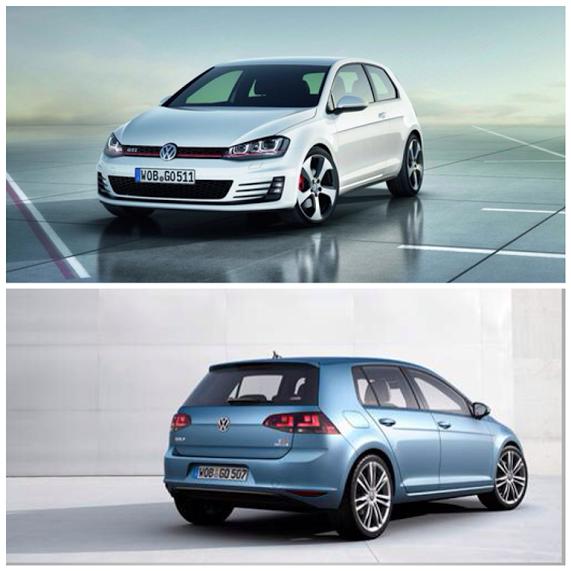 The Brand New Volkswagen Golf Hatchback #carleasing Deal