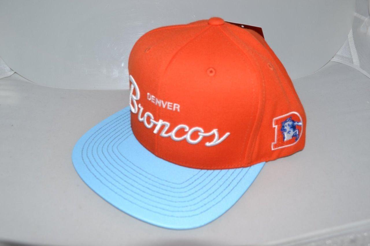 ... buy new era denver broncos script word snapback hat cap 9fifty nfl  brand new ebay 78f23 83a7de2c5