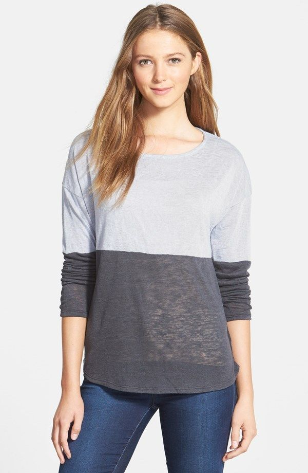 Olivia Moon COlor Block Sweater (Made in USA) via USAlovelist.com