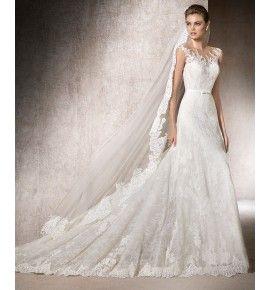 Vestido novia corte a la cadera