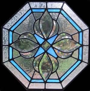 Octagonal Shaped Stained Glass Window Stained Glass Bevels