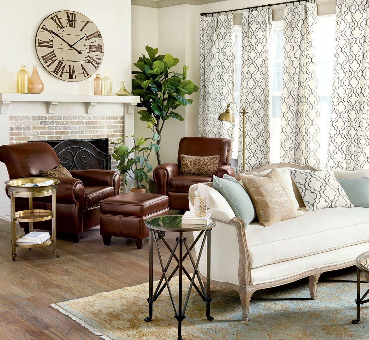 If You Have A Long Room Divide The E Into Two Seating Areas Pair Of