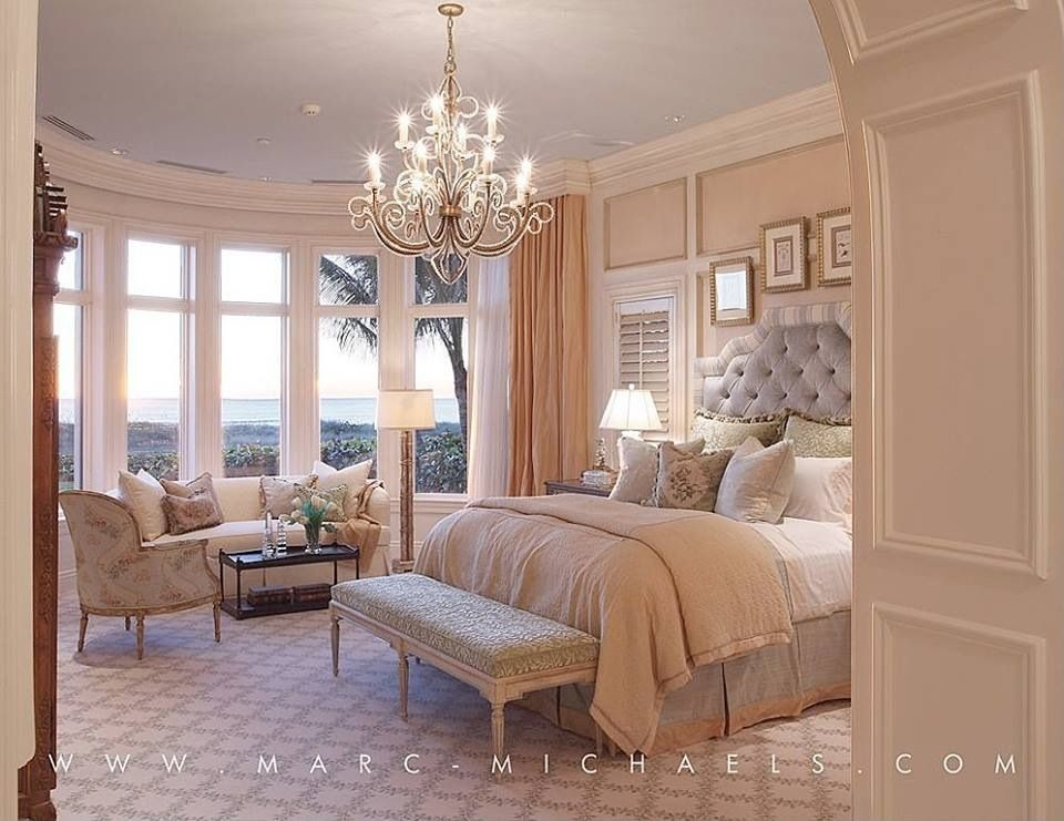 View This Great Traditional Master Bedroom With Chandelier Crown Molding By Marc Michaels Interior Design Discover Browse Thousands Of Other Home