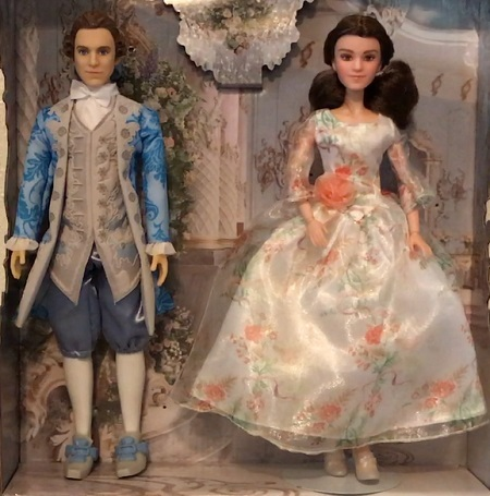 Disney Beauty and the Beast Royal Celebration Dolls Belle /& Prince New