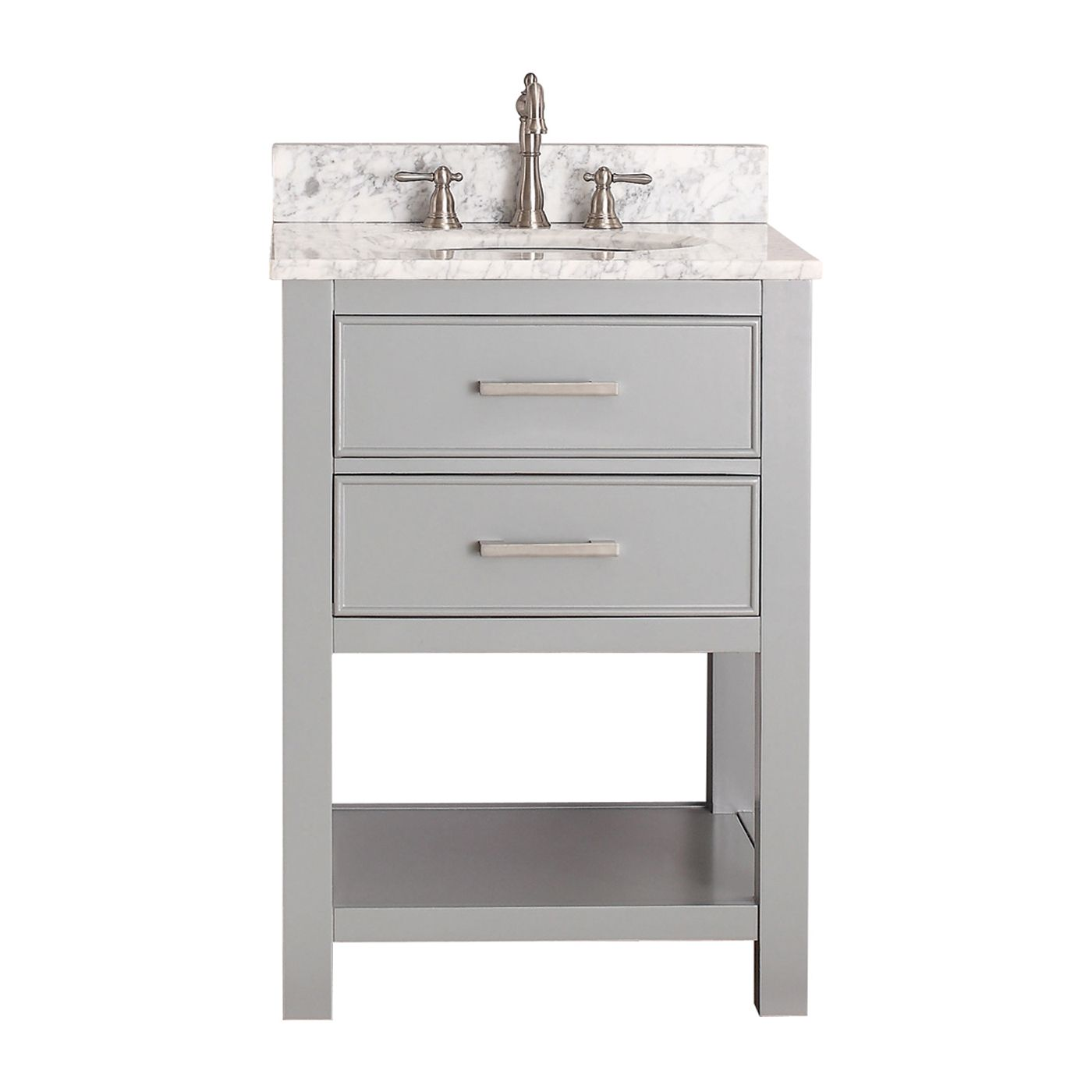 Bathroom Vanity Combos Sale avanity brooks-v24 brooks 24-in bathroom vanity only | atg stores