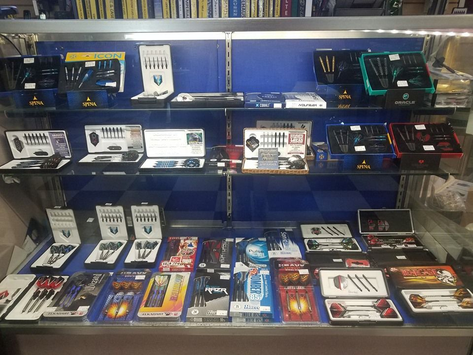 Harrows Darts Service Kit Dart Case 58 Piece Dart Accessories