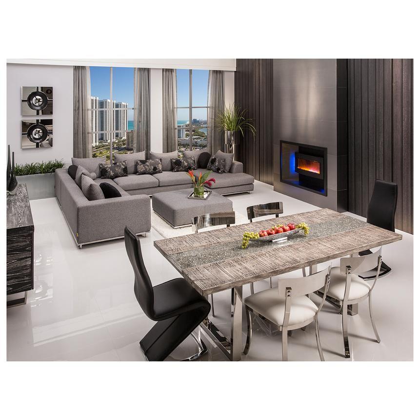 El Dorado Furniture Living Room Sets Rectangular Dining Table