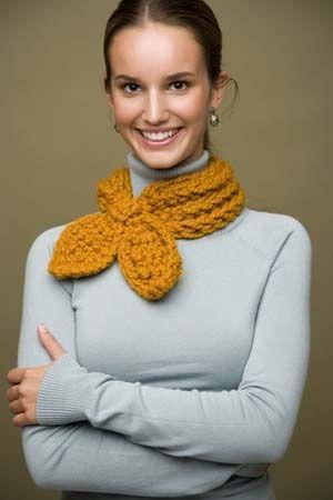 Free pattern for crochet neck wrap. | Handarbeit | Pinterest ...