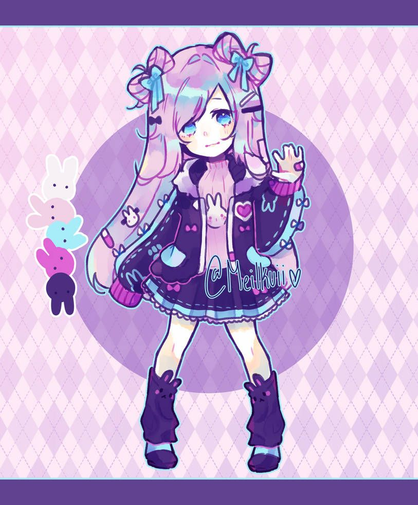 Photo of [open] goth buns 60 euro by kluie on DeviantArt