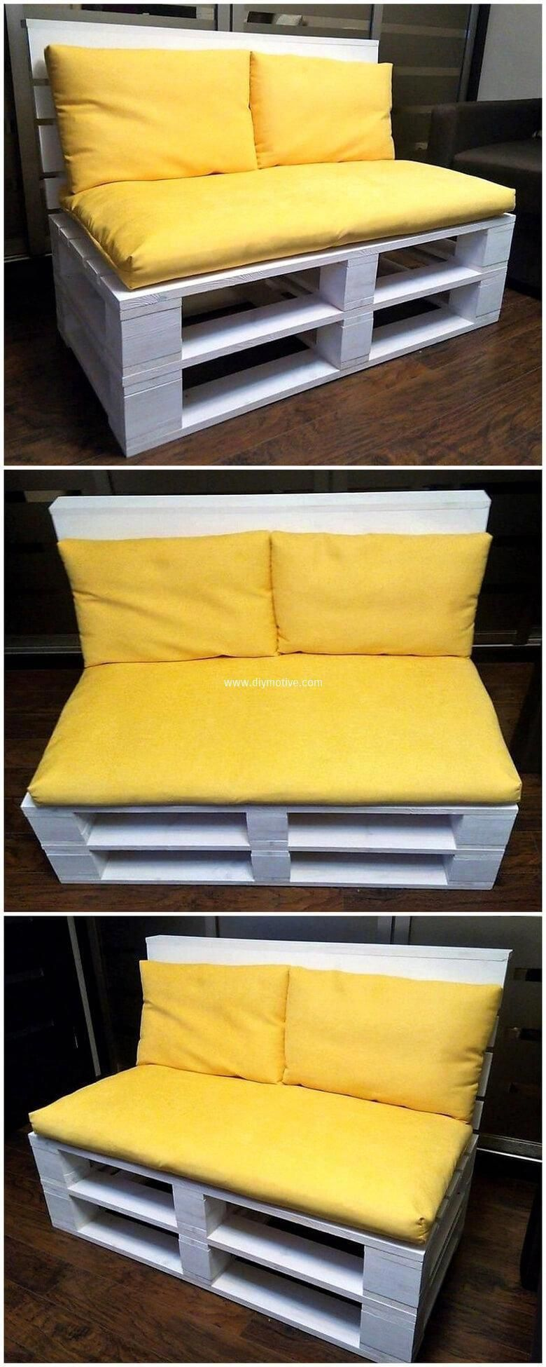 simple couch made with pallets simplepalletcouches