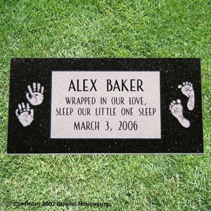 infant loss headstones - Google Search