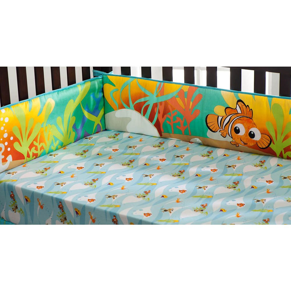 Crib bumpers babies r us - Disney Finding Nemo Crib Bumper Kids Line Babies R Us My