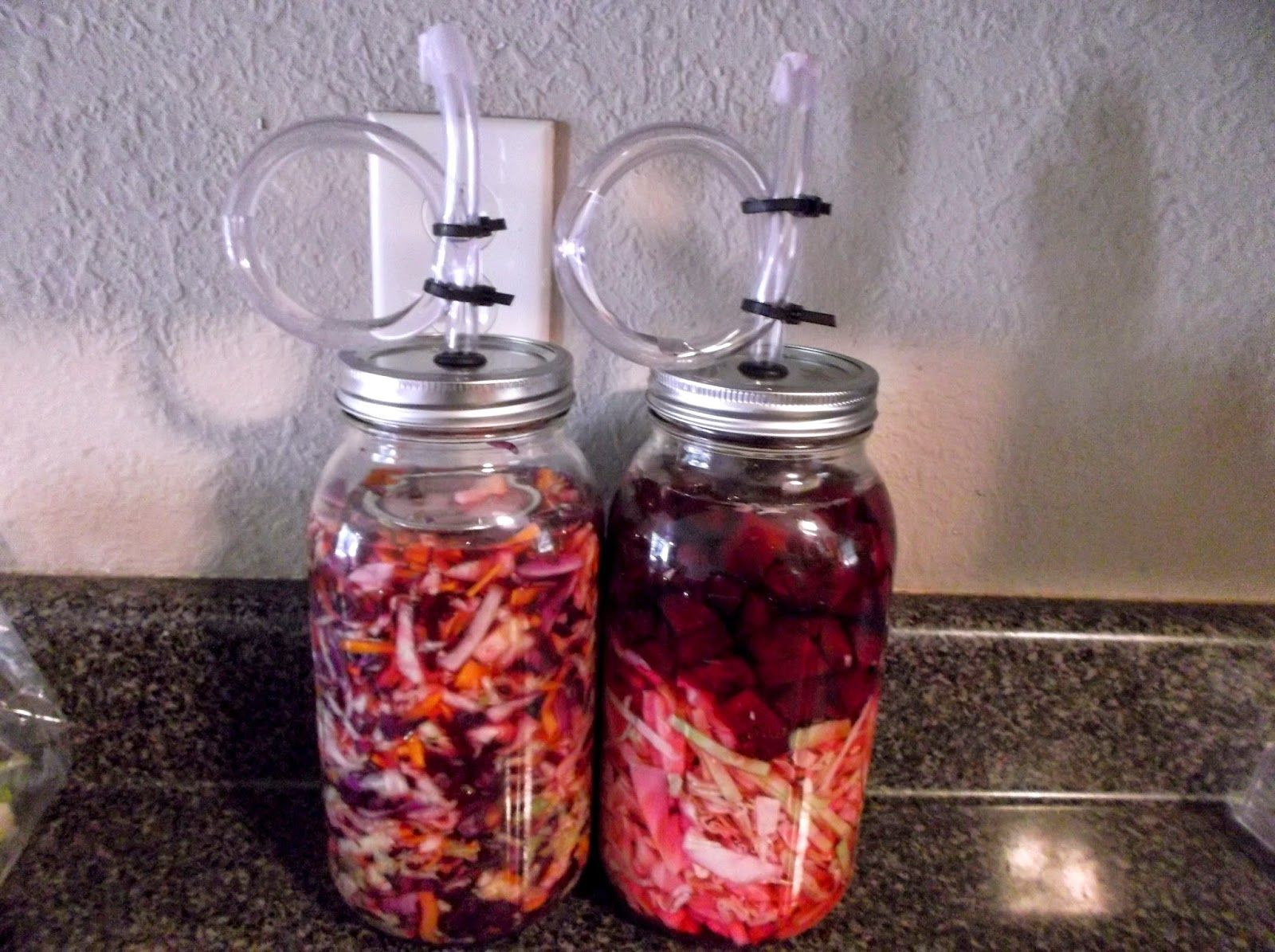 Noelle Likes Good Food Diy Airlock For Lacto Fermentation Food Fermentation Good Food