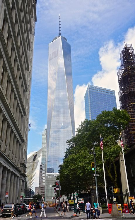1wtc Across Fulton St Nyc With Images New York Landmarks New York City Travel New York