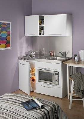 Dise os de cocina en espacios peque os decoraci n de for Disenos de cocinas en espacios pequenos