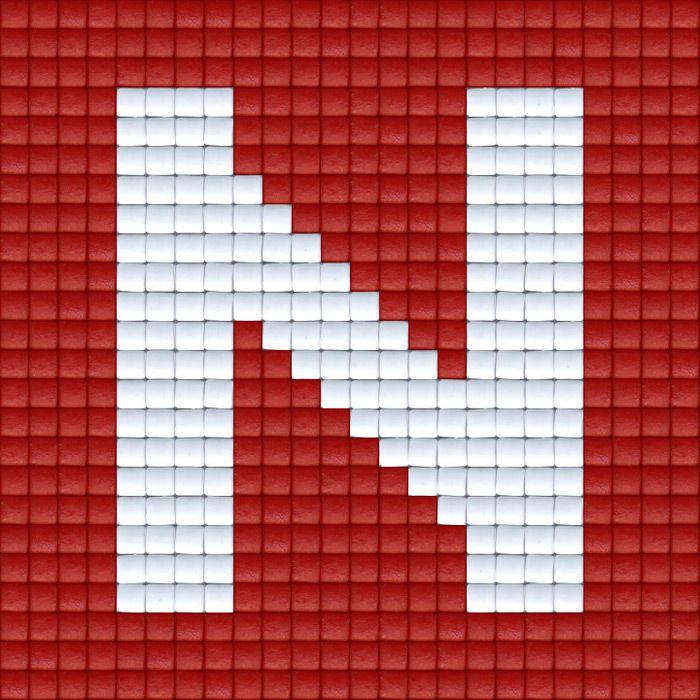 X Letter N   Pixel Party