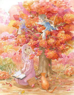 二次元 秋の風景と女の子 の画像イラスト 壁紙 Naver まとめ Anime Drawings Tutorials Animation Art Art