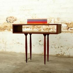 Quirky handcrafted furniture by Frank Bohm.