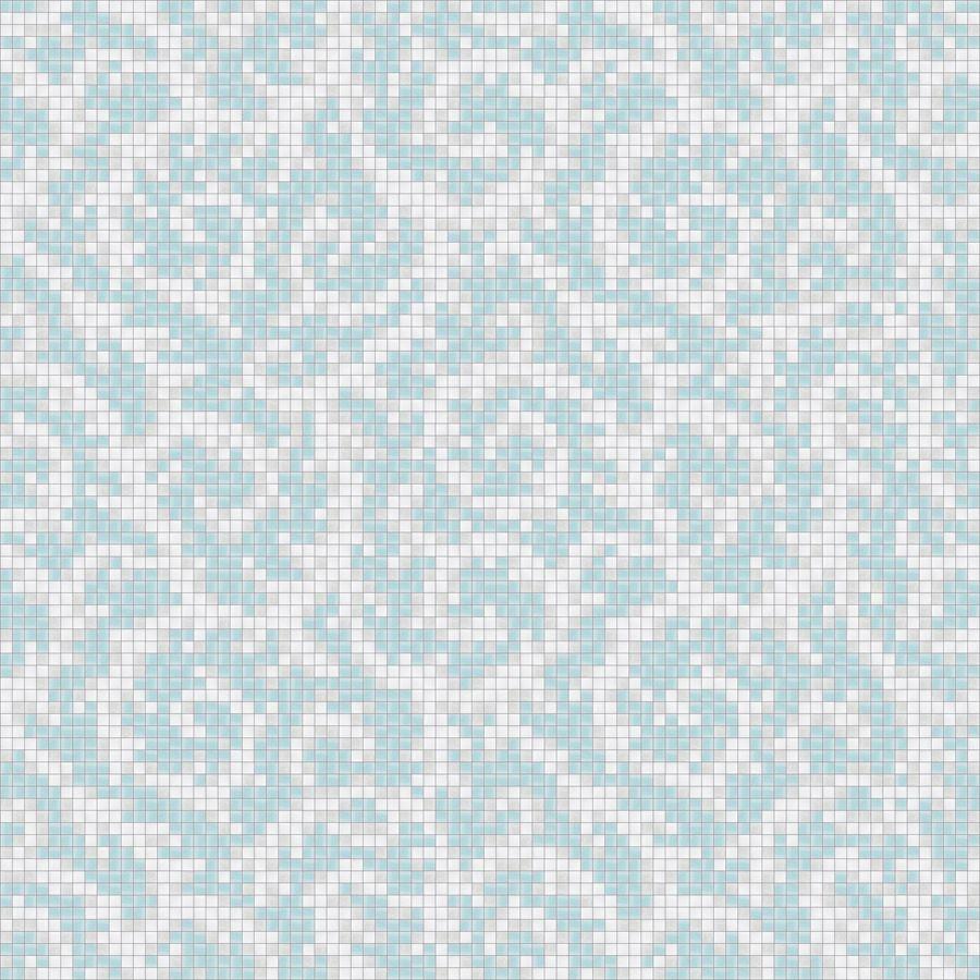 Modern floral tile pattern for bathroom, kitchen, or pool. Versatile ...