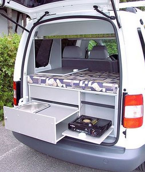 Ford Camper Van Interior Tiny House 1