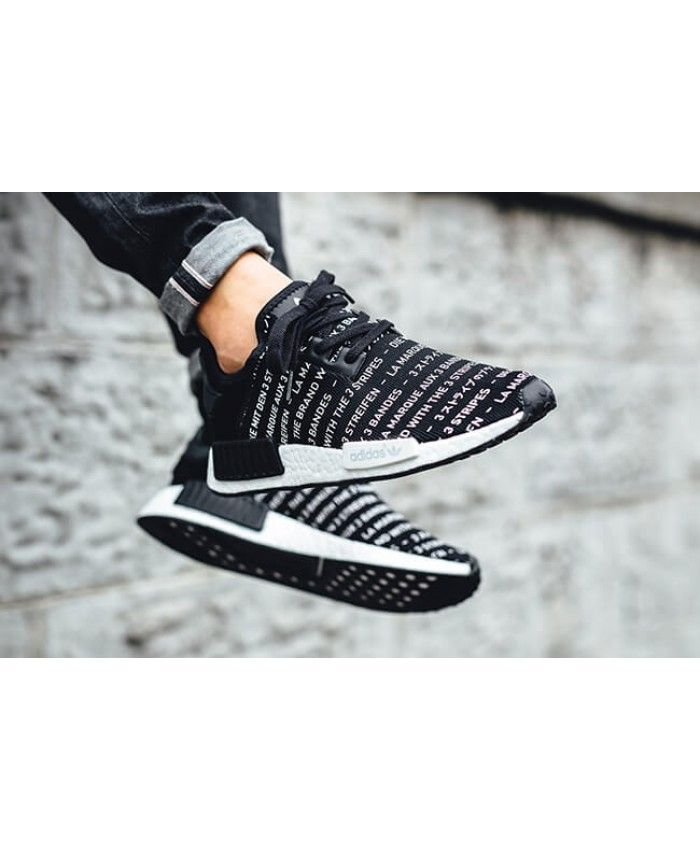 380783ef7 Cheap Adidas NMD R1 Brand With Three Stripes Black