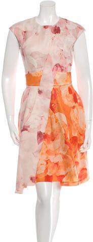 Christian Dior Sleeveless A-line Dress w/ Tags