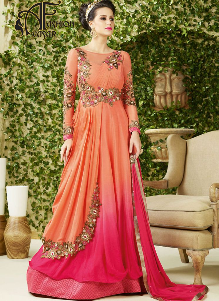 Party Wear Gown Online Shopping India | avasarfashion.com ...