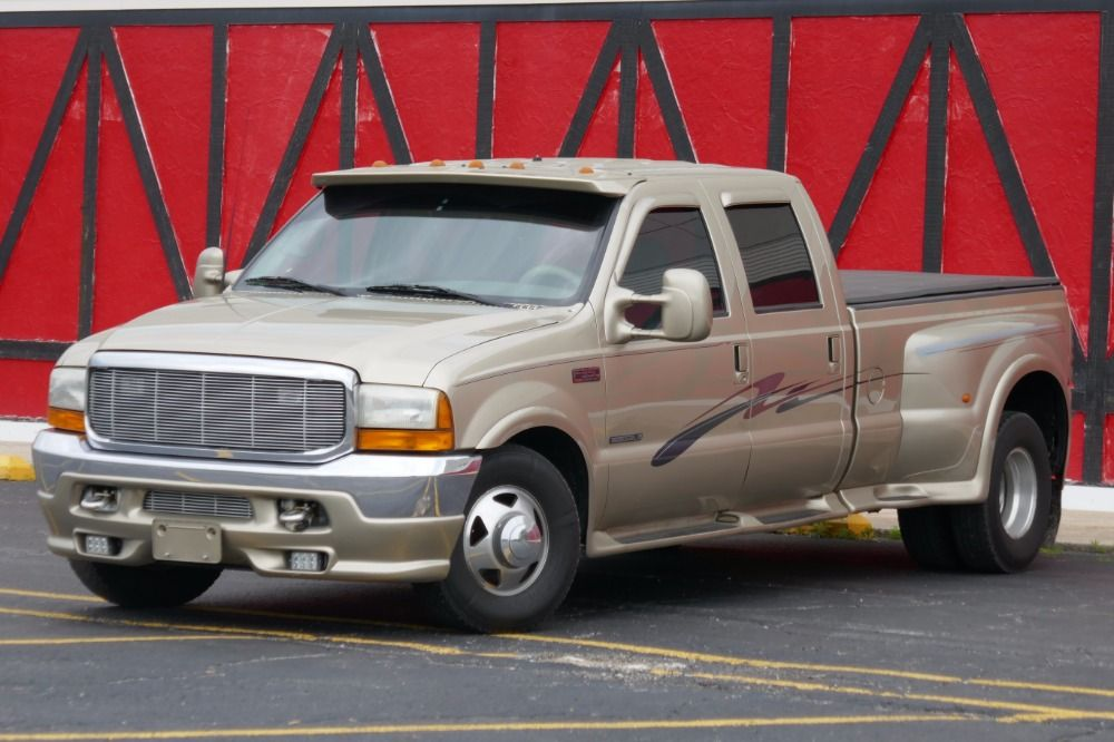 Used 2001 Ford F350 -ONE OWNER-LARIAT EDITION - CREW CAB 7.3 ...