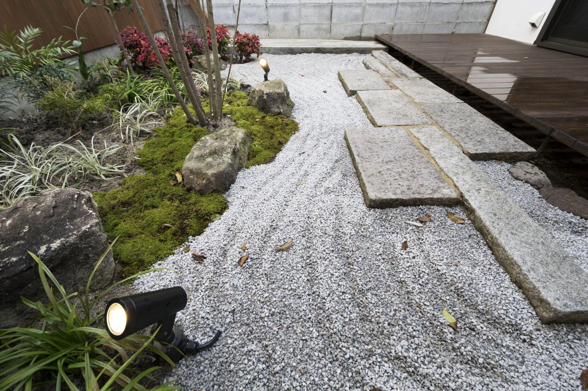 京町家のお庭 庭 お庭 家 中古
