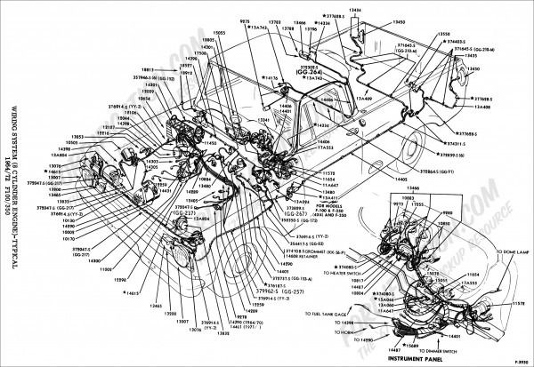 1969 f100 wiring diagram in 2021  diagram 1971 ford f100