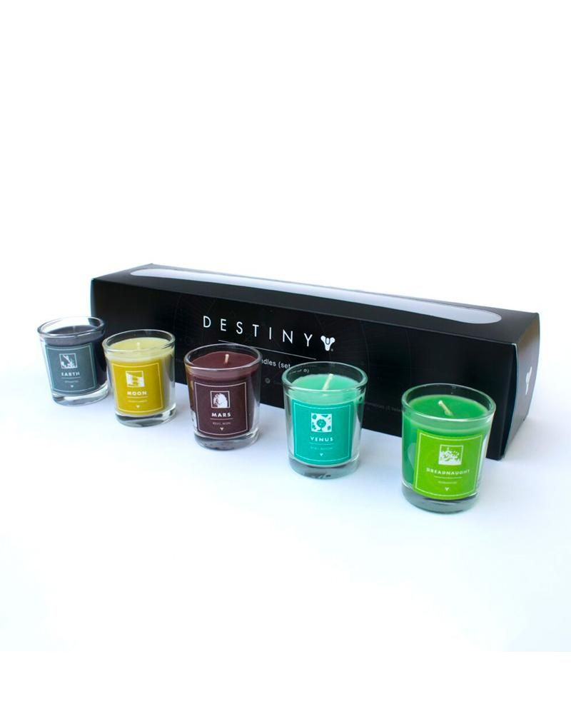Official destiny scented candles pack of 5