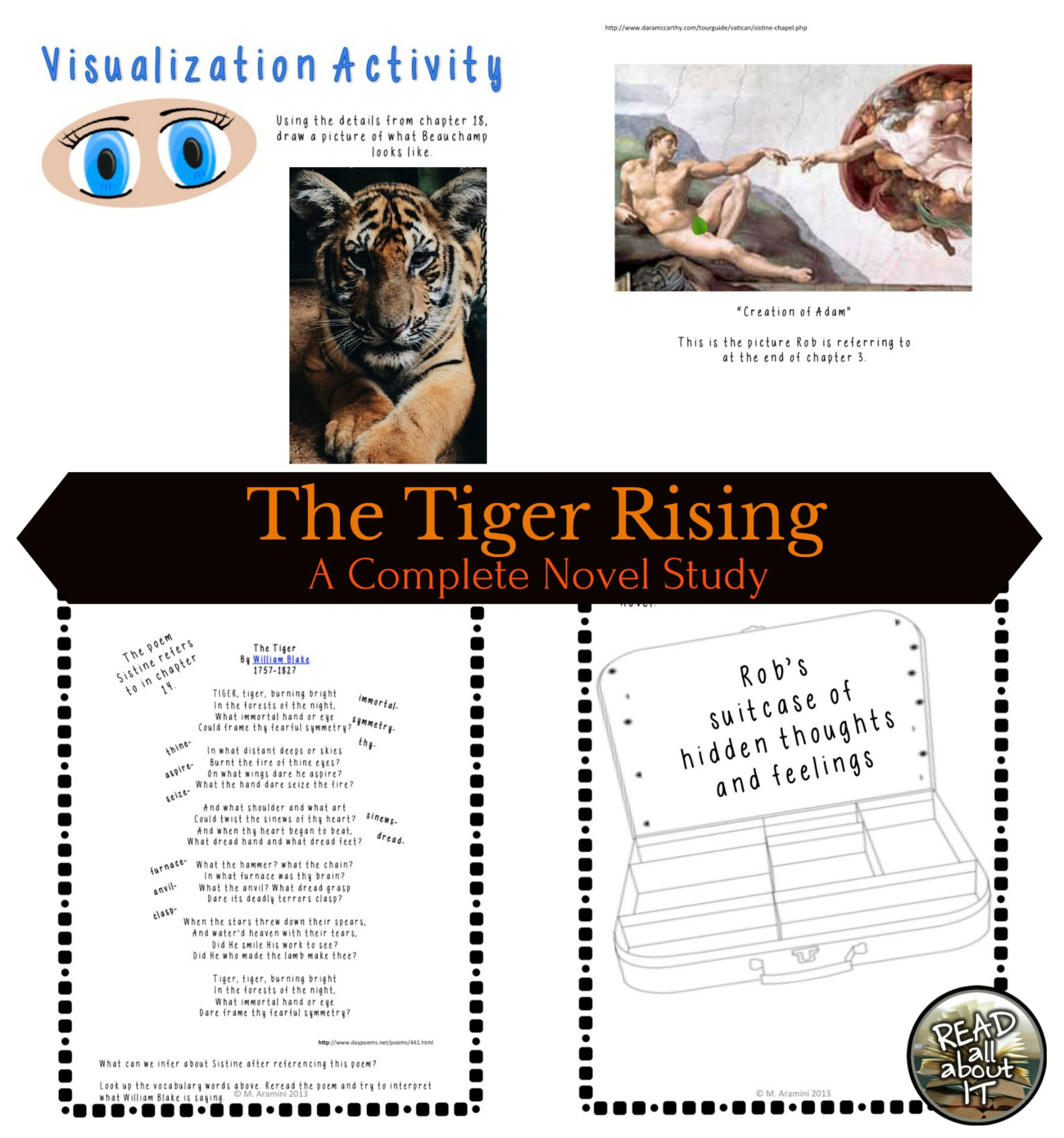 The Tiger Rising A Complete Novel Study