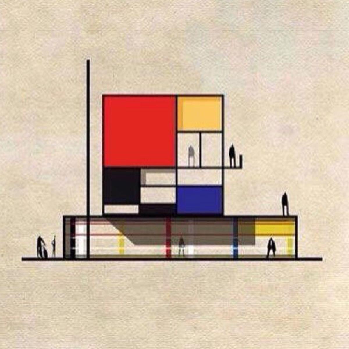 Bauhaus Movement Magazine Photo Bauhaus art, Mondrian