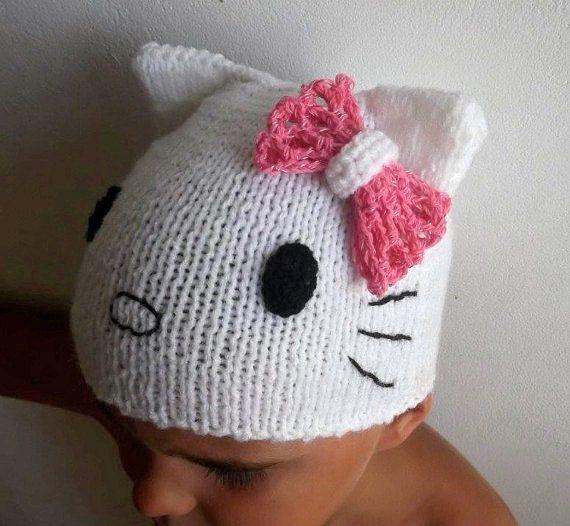 CROCHET PATTERN Hello Kitty Baby Slippers, 4 sizes 0-12 ...