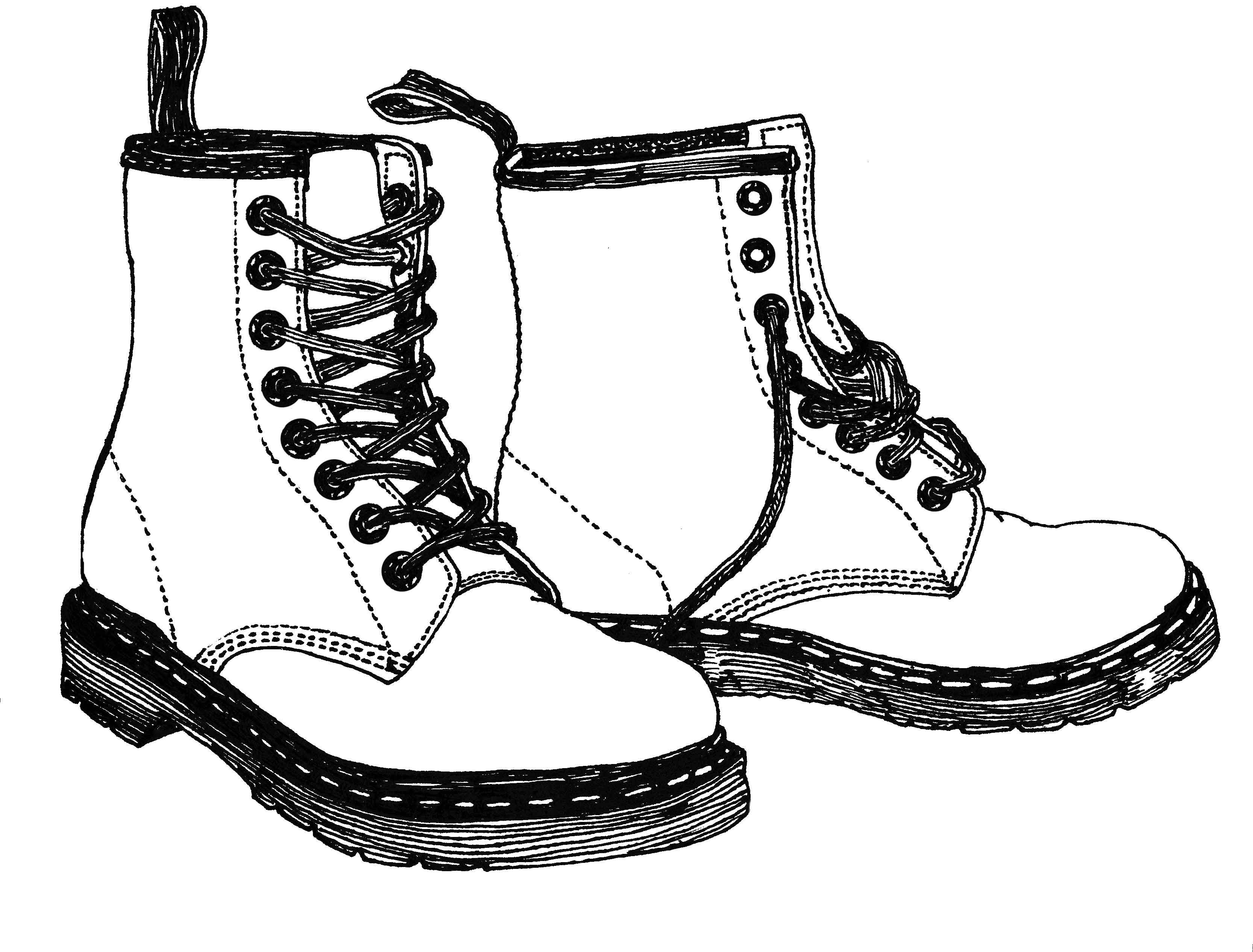 Drawing combat boots google search
