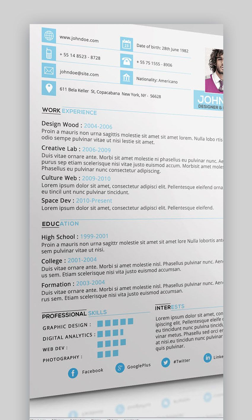 20 best job resume templates with simple designs (2018 food server sample career objective for experienced mechanical engineer seek profile summary examples