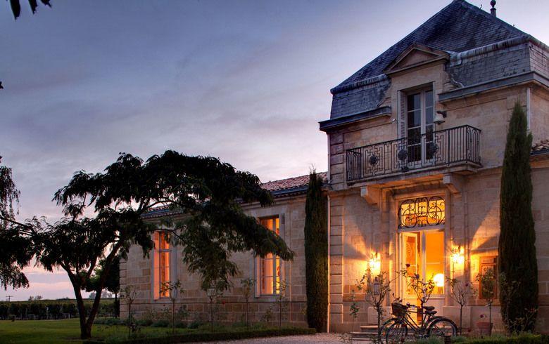 ravintola lähellä Bordeauxia
