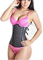 5be1193c28a48 Colombian Latex Waist Cincher Waist Trainer Trimmer Long Torso with 3 Hook  Rows. Find this Pin and more on Fajastec Women s Beauty Classic ...