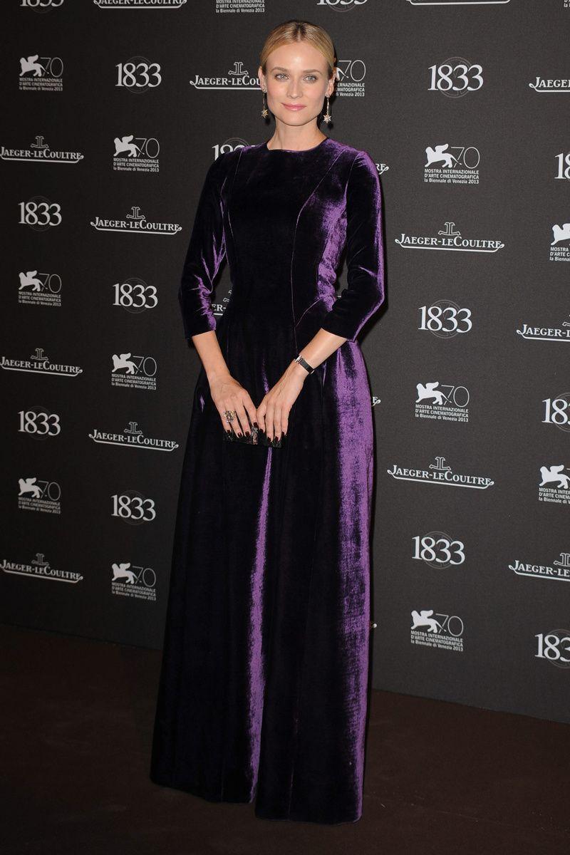 La fiesta de Jaeger en Venecia. Diane Kruger, imagen de las colecciones femeninas de Jaeger-LeCoultre.