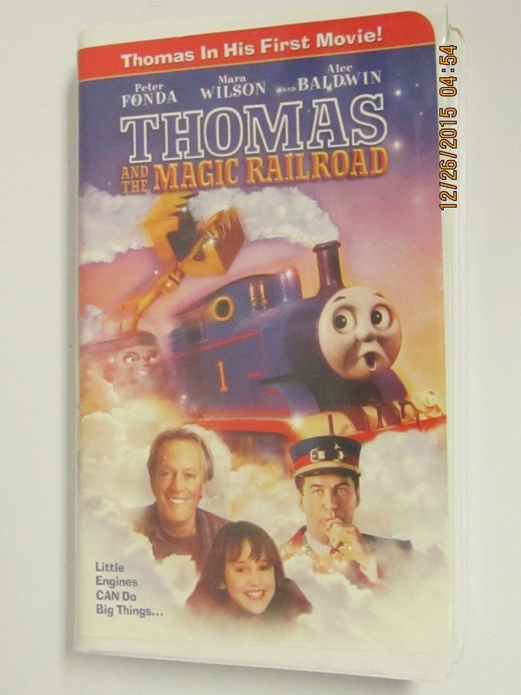 VHS Video Tape Thomas the Tank Engine- Thomas and the ...