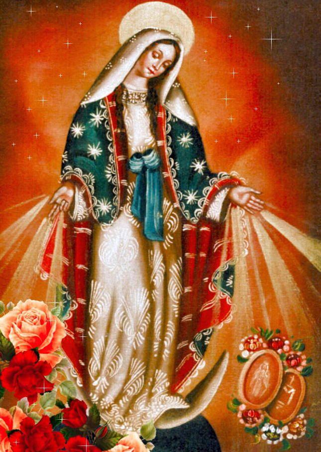 858fd25040 Hoy es el Día de Nuestra Señora de la Medalla Milagrosa. ¡Oh María sin  pecado concebida