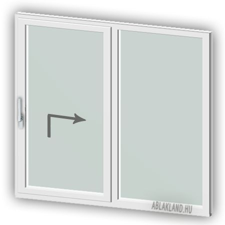 200×200 Plastic Lifting & Sliding Door, Two-leaf, Sliding + …
