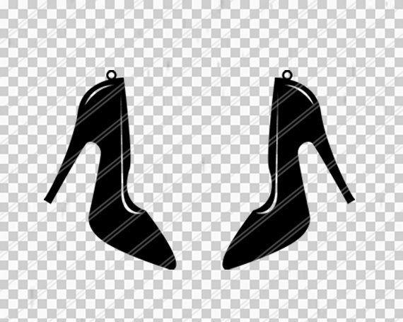 High Heel Earrings Svg Stilettos Earrings Jewelry Svg Leather Jewelry Cricut Silhouette Earrings Vec Products Leather Jewelry Cricut Heels