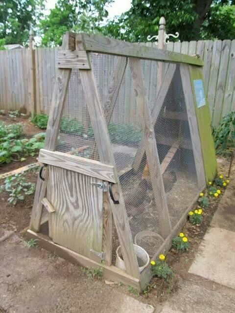 Budget Chicken Coop From Home Farm Ideas Chicken Tractors