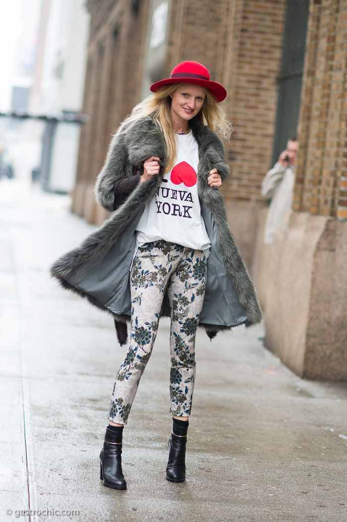 0f54061064c How Street Style Stars Are Wearing Felt Hats This Winter. Felt Hat Trend