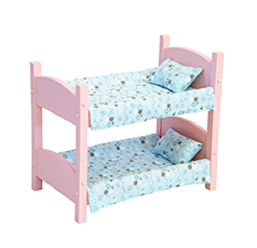 Doll Bunk Bed Heirloom Baby Beds Handmade For 18 American Girl