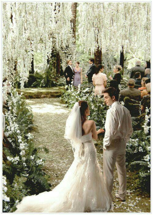 Pin Von Tefi Da Fonseca Auf Twilight Saga Breaking Dawn Hochzeit Twilight Film Traumhochzeit
